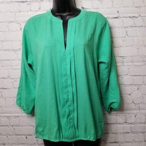 Ann taylor chiffon blouse size xs